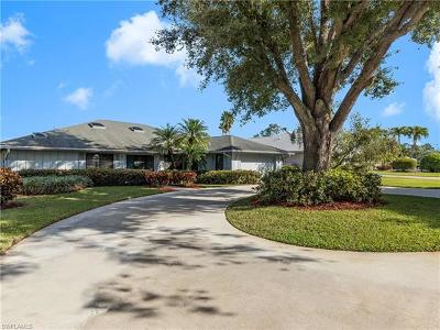 Naples Single Family Home For Sale: 180 Palmetto Dunes Cir