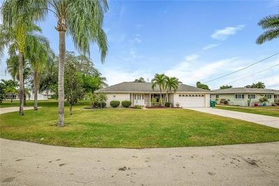 Cape Coral Single Family Home Pending With Contingencies: 1417 Windsor Ct