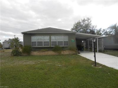 Goodland, Marco Island, Naples, Fort Myers, Lee Mobile/Manufactured For Sale: 280 Lime Key Ln #143