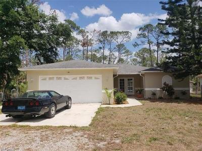 Naples FL Single Family Home For Sale: $375,000