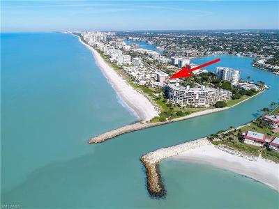 Condo/Townhouse For Sale: 2401 Gulf Shore Blvd N #21