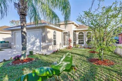 Naples Park Single Family Home For Sale: 727 110th Ave N