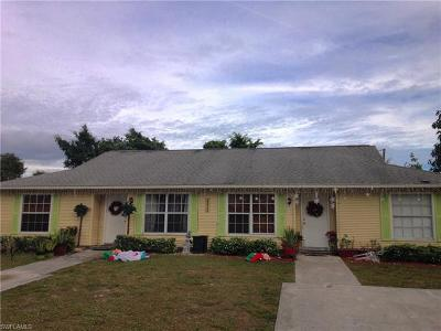 Naples Multi Family Home Pending With Contingencies: 2520 55th Ter SW