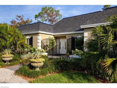 Naples Single Family Home For Sale: 831 Swallow Pt #50