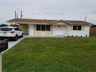 Lehigh Acres Single Family Home Pending With Contingencies: 811 Alcala Ave