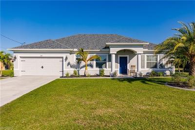 Cape Coral Single Family Home Pending With Contingencies: 2107 SW 25th Ter