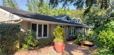 Naples Single Family Home For Sale: 295 6th St N