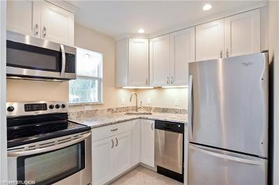 Naples Condo/Townhouse Pending With Contingencies: 647 12th Ave S #647