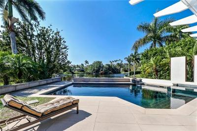 Naples FL Single Family Home Pending With Contingencies: $3,950,000