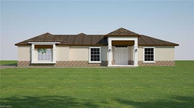 Naples Single Family Home For Sale: Xxx Golden Gate Blvd E Blvd E