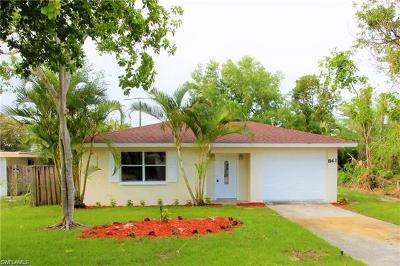 Naples Park Single Family Home For Sale: 841 93rd Ave N