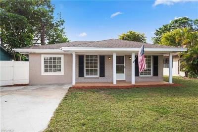 Naples Park Single Family Home For Sale: 850 93rd Ave N