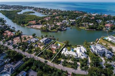 Naples FL Single Family Home For Sale: $6,950,000