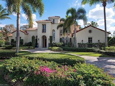Naples FL Single Family Home For Sale: $4,395,000