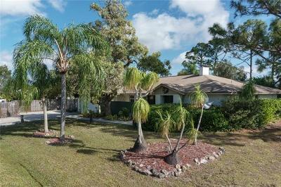 Fort Myers Single Family Home Pending With Contingencies: 18259 Lowe Dr