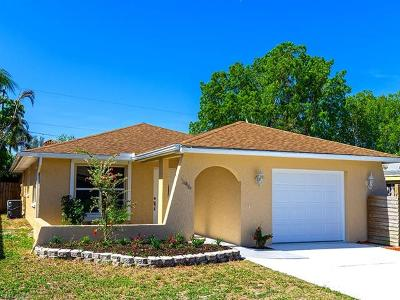 Naples Park Single Family Home Pending With Contingencies: 546 99th Ave N