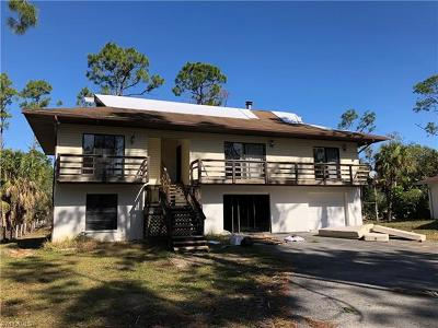 Collier County, Lee County Single Family Home For Sale: 661 12th Ave NE