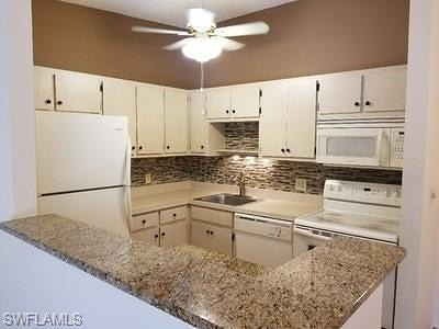 Fort Myers Condo/Townhouse Pending With Contingencies: 17426 Birchwood Ln #6