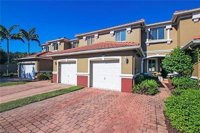 Fort Myers Condo/Townhouse Pending With Contingencies: 17605 Brickstone Loop