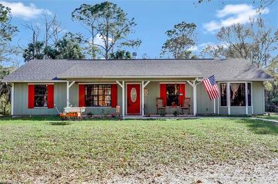 Naples Single Family Home For Sale: 2560 4th Ave NE