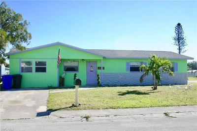 Fort Myers Single Family Home Pending With Contingencies: 1 E Clermont Ct