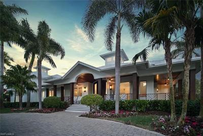 Naples FL Single Family Home For Sale: $6,250,000