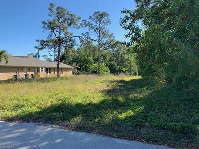 Bonita Springs Residential Lots & Land For Sale: 4551 Del Rio Ln
