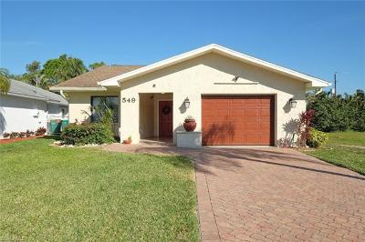 Naples Single Family Home For Sale: 549 100th Ave N