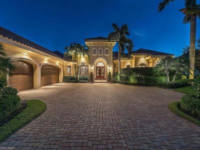 Naples FL Single Family Home For Sale: $2,195,000