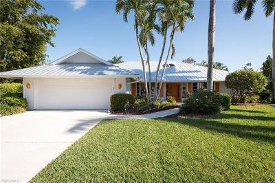 Naples Bath And Tennis Club Single Family Home Pending With Contingencies: 430 Widgeon Pt #7