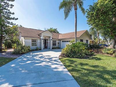 Naples Single Family Home For Sale: 3587 Kent Dr