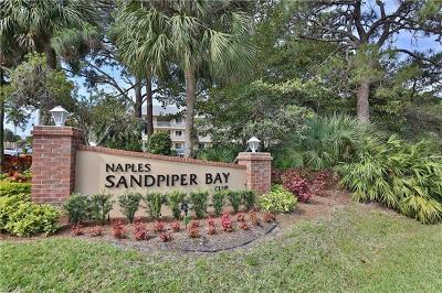 Naples Condo/Townhouse For Sale: 3071 Sandpiper Bay Cir #L201