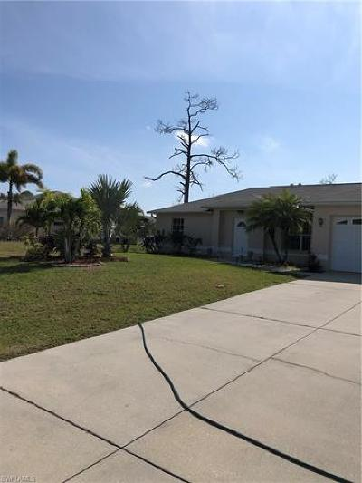 Cape Coral Single Family Home For Sale: 2306 SW 21st St