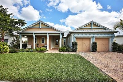 Naples Single Family Home For Sale: 14720 Windward Ln W