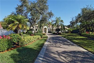 Naples Single Family Home For Sale: 574 Wedgewood Way