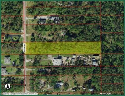 Naples Residential Lots & Land For Sale: 2090 21st St SW