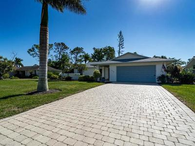 Naples Single Family Home For Sale: 678 Pompano Dr
