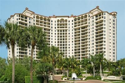 Naples Condo/Townhouse For Sale: 7575 Pelican Bay Blvd #1207
