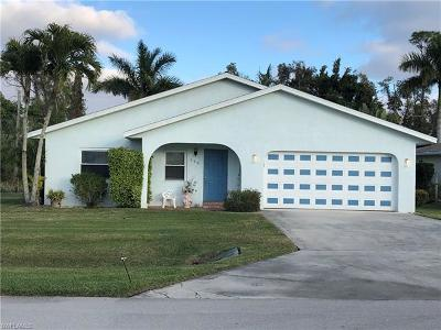 Bonita Springs Single Family Home Pending With Contingencies: 668 Valley Dr