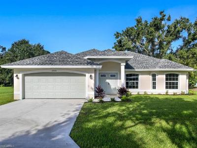 Fort Myers Single Family Home For Sale: 1836 Hanson St