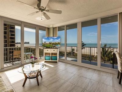 Marco Island Condo/Townhouse Pending With Contingencies: 140 Seaview Ct #605S