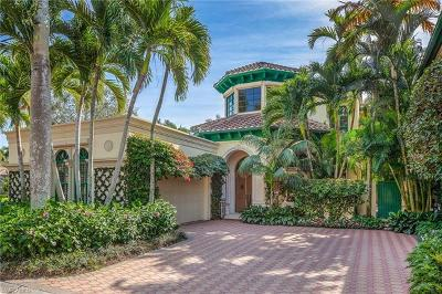 Naples Single Family Home For Sale: 248 Point Salerno