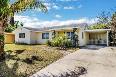Naples Single Family Home For Sale: 1263 10th St N