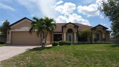 Cape Coral Single Family Home For Sale: 2712 NW 22nd St