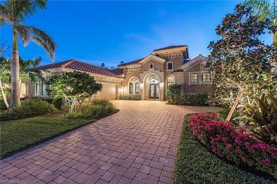 Naples Single Family Home For Sale: 3740 Mahogany Bend Dr