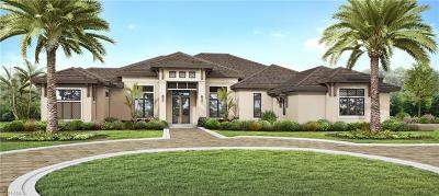 Naples FL Single Family Home For Sale: $3,995,000