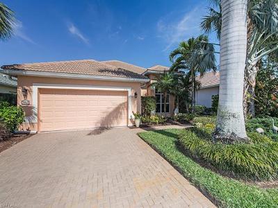 Naples Single Family Home For Sale: 3915 Jasmine Lake Cir