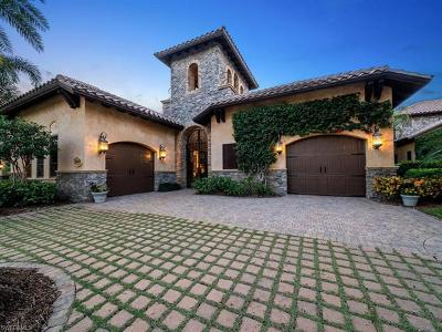 Naples Single Family Home Pending With Contingencies: 29140 Positano Ln