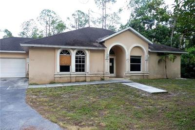 Naples Single Family Home For Sale: 260 3rd St SW
