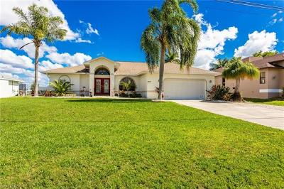 Cape Coral Single Family Home For Sale: 4319 SW 18th Pl